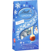 Lindt Chocolate Lindor Snowman Truffle Christmas Bag
