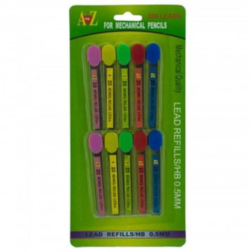 Bulk Buys KL19391 0.5mm Mechanical Pencil Lead Refills Set