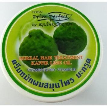 300gx1 Bottle Prim Perfect Herbal Hair Treatment Kaffir Lime Oil Vitamin E by jawnoy
