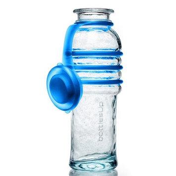 Bottlesup Glass B-BU-101 16 oz Glass Water Bottle - Blue