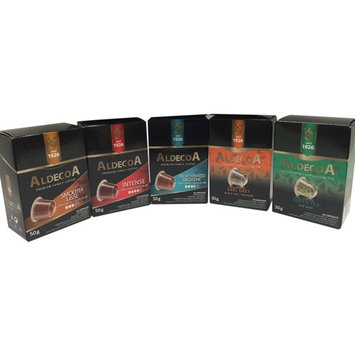 Aldecoa Nespresso Capsule Variety Pack, 50 Count [Variety Pack]