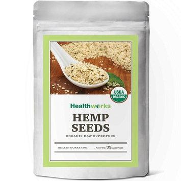 Healthworks Hemp Seeds Shelled Raw Organic, 2lb
