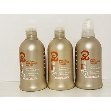 Genus Oxy Color Protection Softenign Milk Anti-frizz Spray Emulsion 8.45 Oz