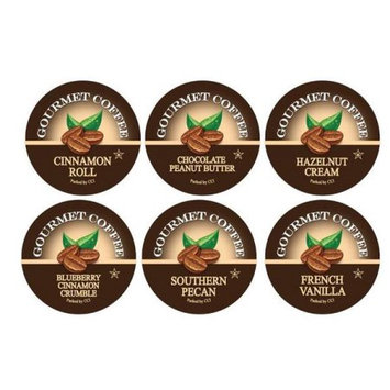 Smart Sips Coffee Flavor Lovers Coffee Variety Sampler Pack, 72 Count, Single Serve Cups for Keurig K-cup Brewers