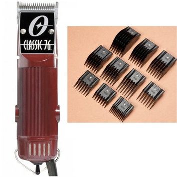Oster Classic 76 FACTORY REFURBISHED + 000 Blade + 10-Piece comb set