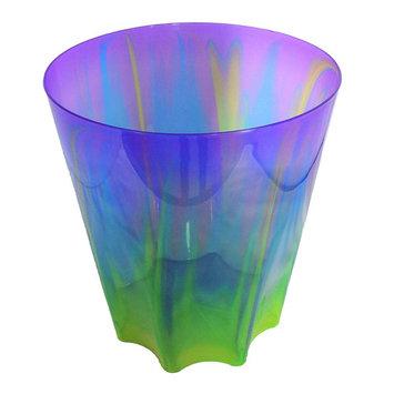 """Infusion Plastics 11.5"""" Waste Basket - Purple"""