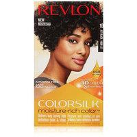 Revlon Colorsilk Moisture Rich Hair Color, Jet Black No. 10, 1 Count