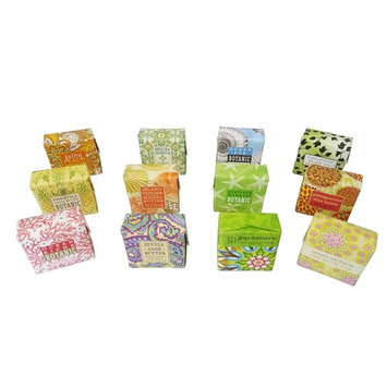 Natural Extracts & Essential Oil Soap Sampler Set of 12 1.9 oz Soap Bars Gift Boxed by Lynne Leea