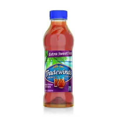 Tradewinds Slow Brewed Iced Tea, Extra Sweet Tea 18.5-ounce plastic bottles (Case of 12)