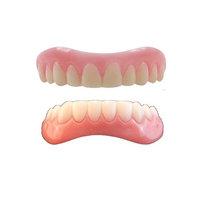 Instant Smile Teeth MEDIUM Top and Bottom Veneers 2 extra fitting beads