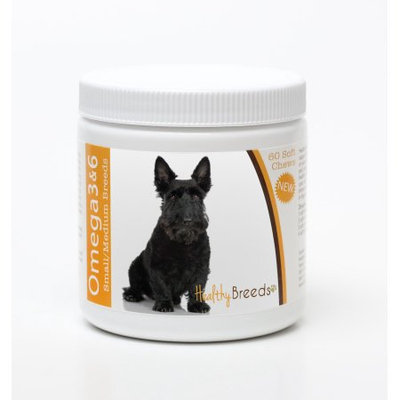 Healthy Breeds 840235142935 Scottish Terrier Omega 3 & 6 Soft Chews - 60 count