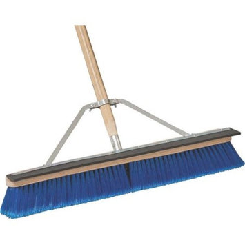 MintCraft Pro 1426ASQOR Push Broom with Brace 24-Inch Squegee