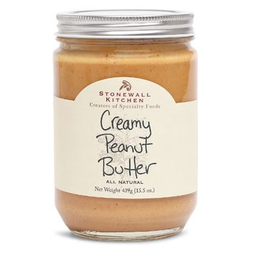 Stonewall Kitchen All Natural Peanut Butter, Creamy, 15.5 Ounce [Creamy]