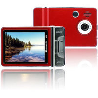 XO Vision Ematic 4GB Video MP3 Player-Rd