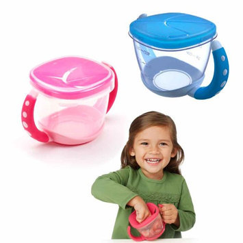 Atb 1 Gerber Active Snacker Baby Toddler No Spill Snack Bowl Cup Container BPA Free