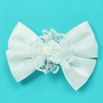 Expo International, Inc Expo Ava Bow Triple Flower Embellishment w/clip