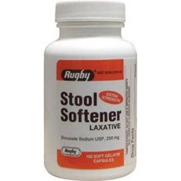 Stool Softener Docusate Sodium 250 mg 100 Caps