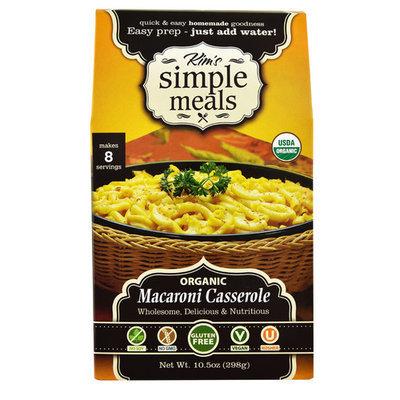 Kim's Simple Meals Organic Macaroni Casserole -- 10.5 oz