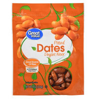 Great Value Grat Value Pitted Dates, 8 oz