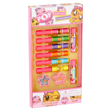 Markwins International Corporation Limited Pop Sweet Style Lip Gloss Collection, 10 piece