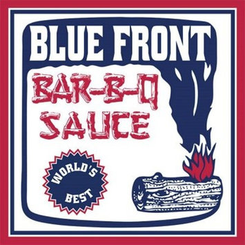 """BLUE FRONT BAR-B-Q Sauce """"MILD TRIO"""" (3) 16oz Bottles of thick spicy deliciousness - Pleasing BBQ lovers for over 40 years"""