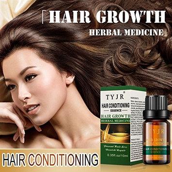 TYJR herbal hair growth liquid helps hair grow faster - enhance hair roots - alopecia and alopecia - hair treatment product hair growth essence -10ML
