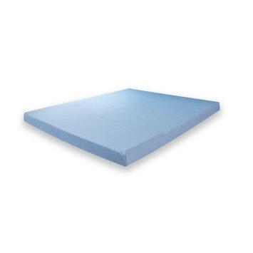 Classic Brands Modern Sleep 3-Inch Gel Memory Foam Mattress Topper, Twin