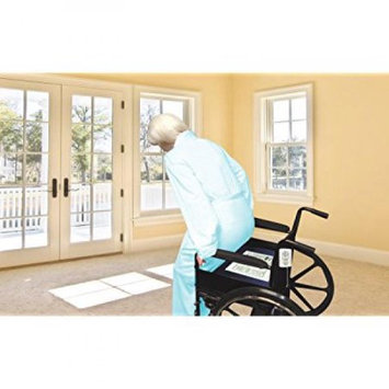 Smart Caregiver BC45-SYS Bargain Monitor and 7 in. x 15 in. 45 day chair sensor