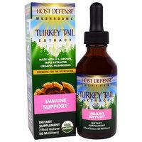 Fungi Perfecti, Host Defense Mushrooms, Organic Turkey Tail Extract, Immune Support, 2 fl oz (60 ml)