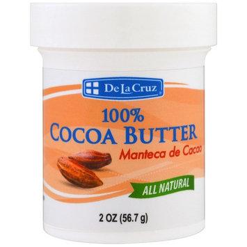 De La Cruz, 100% Cocoa Butter, 2 oz (56.7 g)