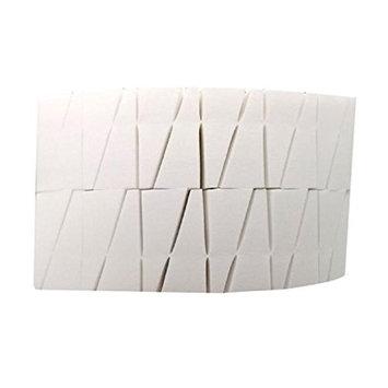 LUNIWEI Beauty 24PCS 4325mm White Triangle Sponge Puff