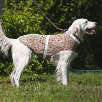Corky's Collars See-Me Dog Vest, Medium, Corky's Camo