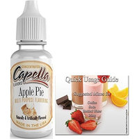 Capella Flavor Drops Concentrated & Quick Start Guide Bundle (Apple Pie 13ml)