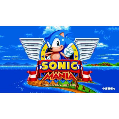 Nintendo Sonic Mania SWITCH (Email Delivery)