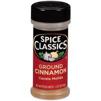 McCormick Spice Classics Cinnamon Ground, 2.37 OZ (Pack of 4)