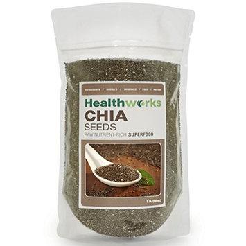 Healthworks Chia Seeds Raw Pesticide-Free