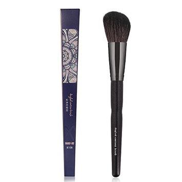 MAANGE 1pcs Round Angled Makeup Brushes Pro Concealer Contour Blush Brush Goat Hair Face Powder Foundation Cosmetis Tools