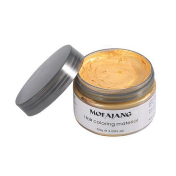Hair Wax Style Mud, Temporary Color, Natural Dye Pomade, Washable, G