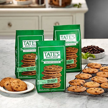 Tate's Bake Shop Cookies - Mint Chocolate Chip - 7 oz