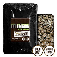 100% Colombian Supremo Coffee, Whole Bean, Fresh Roasted Coffee LLC (5 lb.)