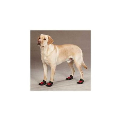 Petedge ZA945 04 83 Casual Canine X-treme Weather Boots Sm Red