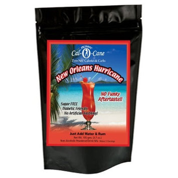 Sugar Free New Orleans Hurricane No Calories or Carbs - 100% All Natural Mix - 44 Serving - 2.5 Gal Frozen Drink Machine Pk