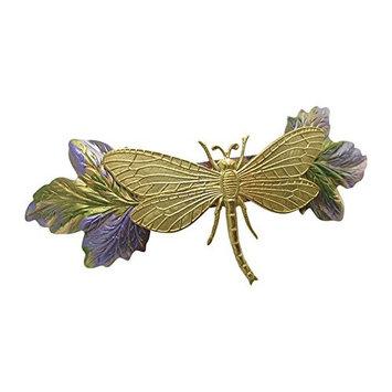 Dragonfly Barrette Wedding Hair Clips Wedding Hair Accessories Dragonfly Barrettes Bridal Hair Clips