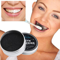 Lavany Teeth Whitening Powder Natural Activated Organic Charcoal Bamboo Toothpaste for Healthy Whiter Teeth