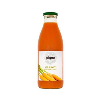 Biona Organic Carrot Pressed Juice 1L (Pack of 6)