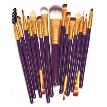 LUNIWEI Beauty Makeup 15 PCS/Set Brush Set