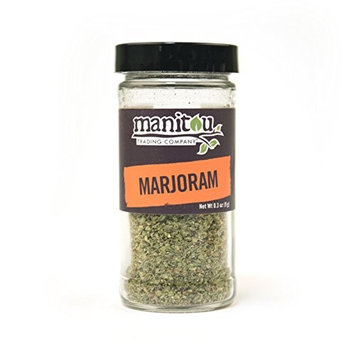 Marjoram, 6 / .3 Oz Glass Jar Case