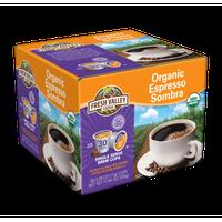 Fresh Valley Farm Espresso Sombra Organic 100% Organic Coffee, 30 Ct