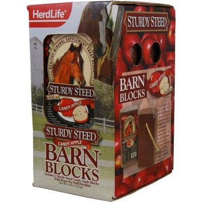 Evolved Habitats Herd Life Sturdy 4lb Steed Barn Block Apple, 2pk