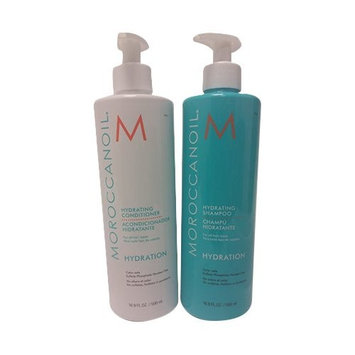Moroccanoil Hydrating Shampoo & Conditioner Set with Pump 16.9 0z